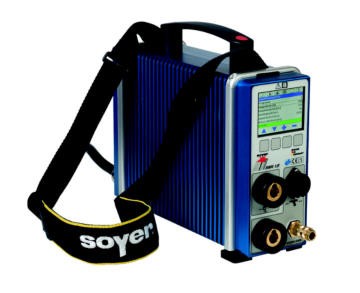 www.srm-technology.eu - The miniature stud welder BMK-12i weighs just 7.8 kg and is suitable for weld studs of up to Ø 12 mm